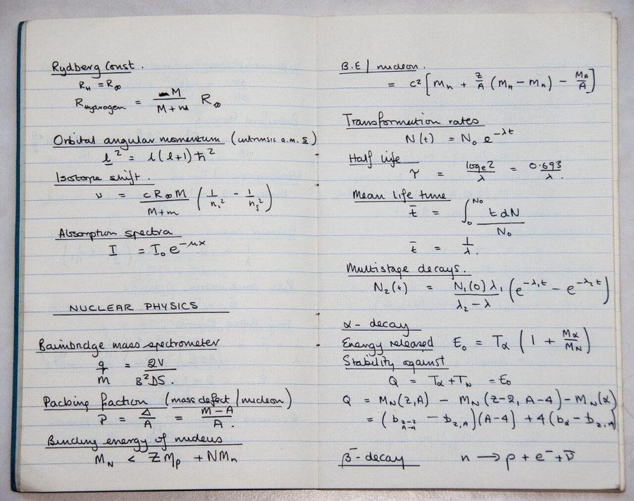 物理の板書3ポイント